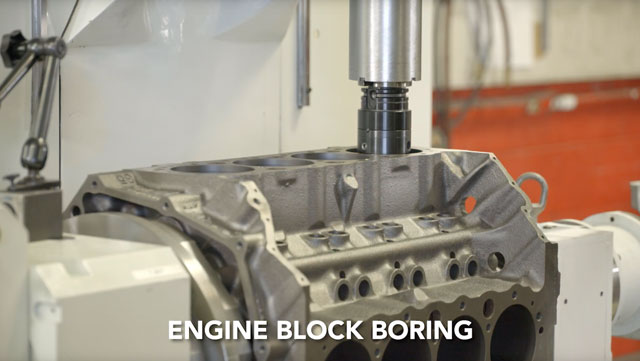 engine block boring