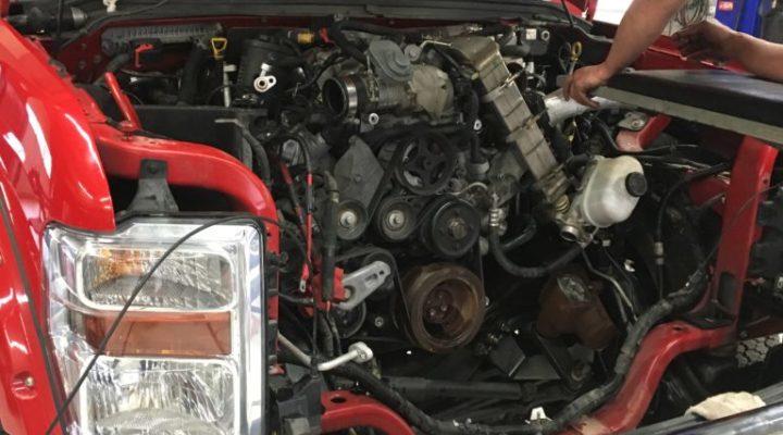 2008 F-350 6.4L PowerStroke Engine Rebuild