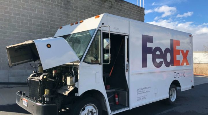 1998 Freightliner P700 Fed Ex Truck Repair